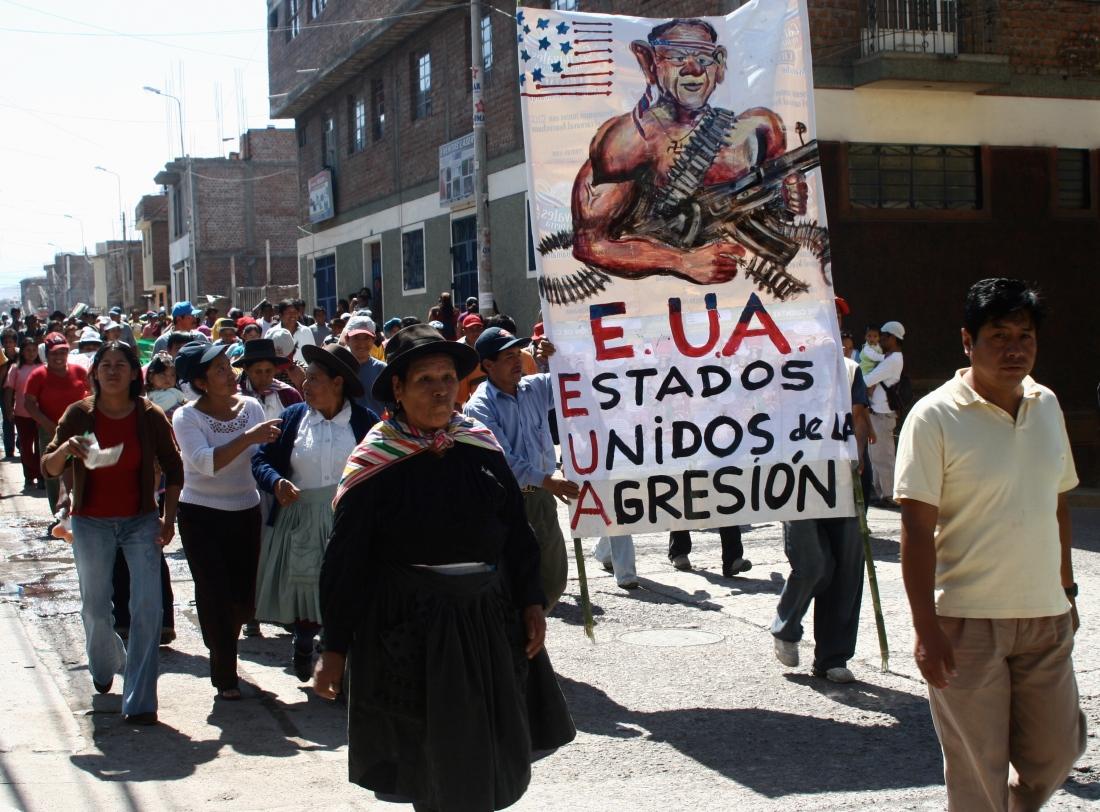 Paro Nacional, Ayacucho Perú