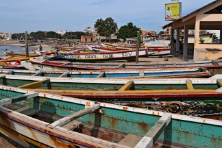 The shores started to fill with empty useless fishing boats that the local fishermen couldn't afford to use anymore.