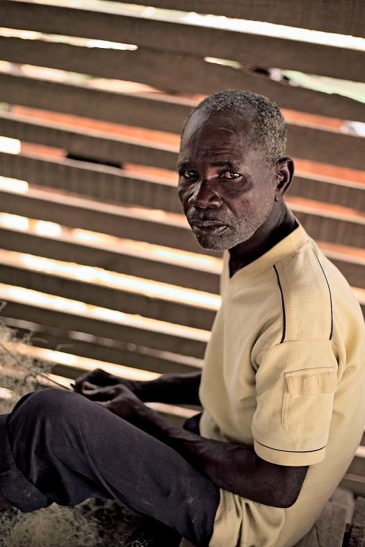 Unemployed Fisherman, Ghana 2012