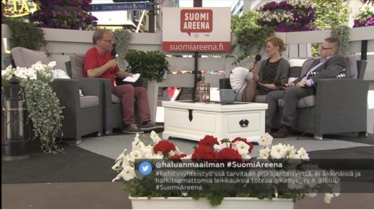 SuomiAreena: Tarvitaanko kehitysapua?