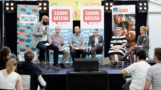 SuomiAreena- kehitysyhteistyö-Kehys