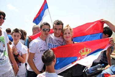 Interviewing Serb nationalists in Kosovo Polje 2013