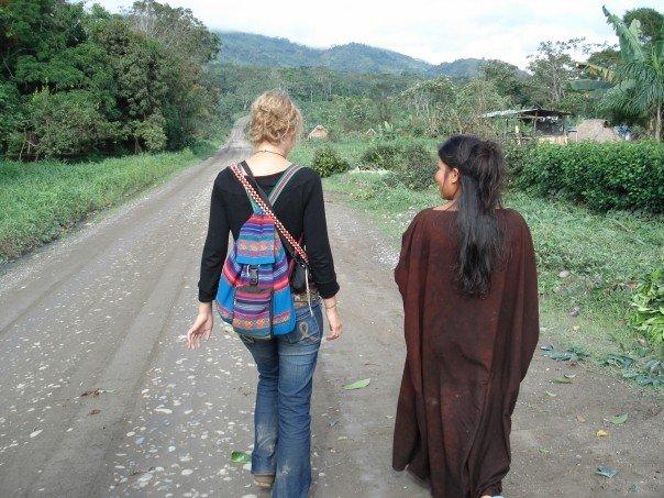 Visiting Asháninka territory in Perú, 2007