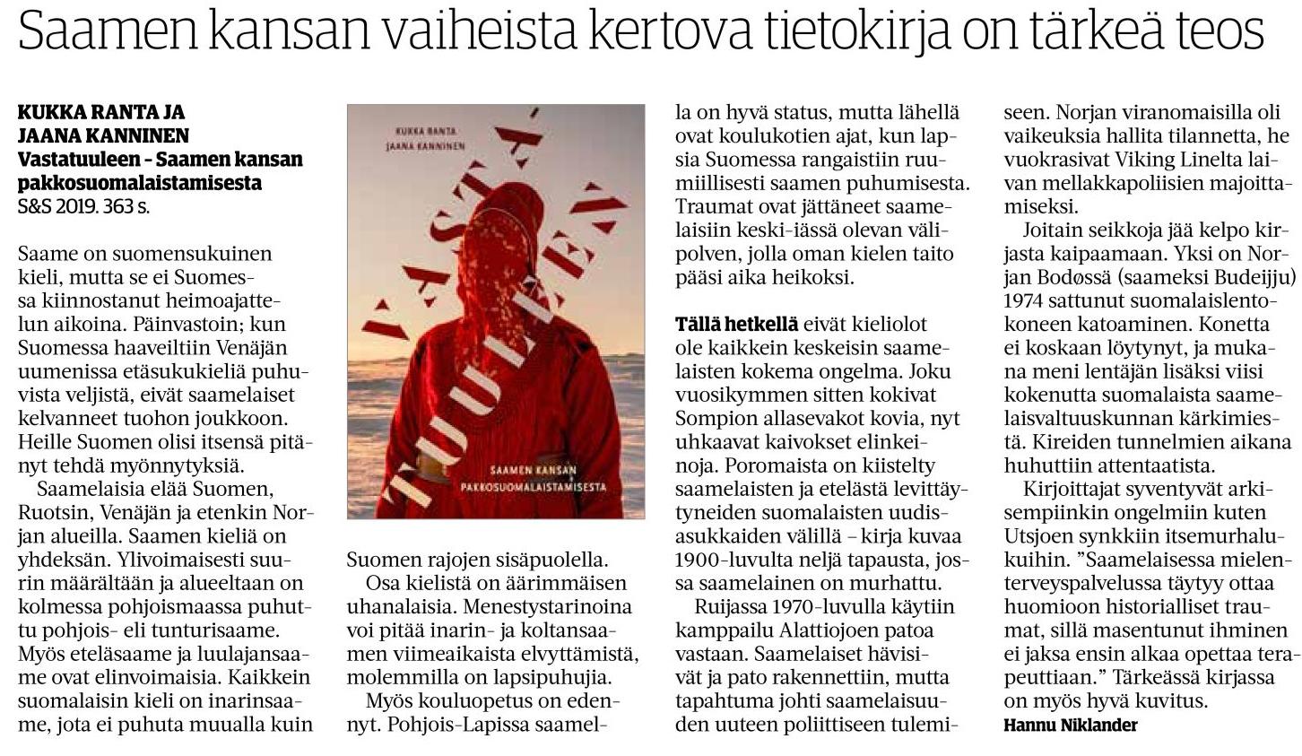 SavonSanomat-20191201-Vastatuuleen-web